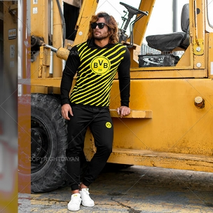 ست سویشرت و شلوار مردانه Dortmund مدل A1797