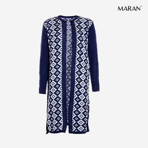 مانتو بافت زنانه Maran مدل L3721 (آبی)