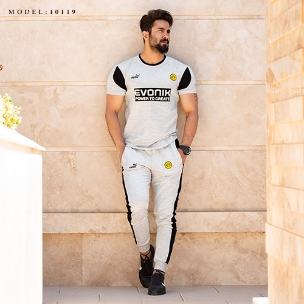 ست تیشرت و شلوار مردانه Dortmund مدل 10119
